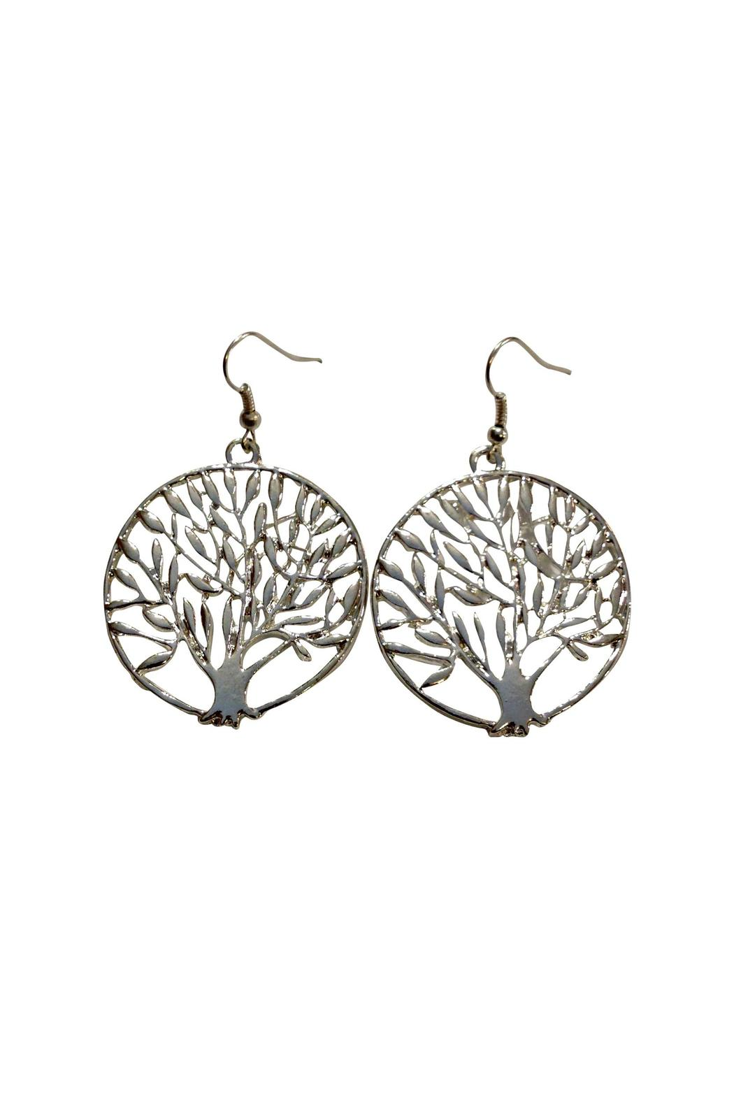 House and Garden Boutique Tree Life Earrings - Main Image