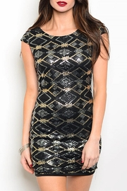 House of Atelier Sequin Mini Dress - Product Mini Image