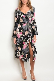 House of Atelier Black Floral Dress - Product Mini Image