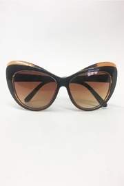 House of Atelier Brown Oversized Sunglasses - Product Mini Image