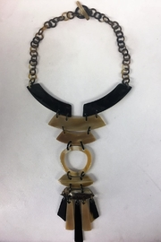 House of Atelier Buffalo-Bone Pendant Necklace - Front cropped