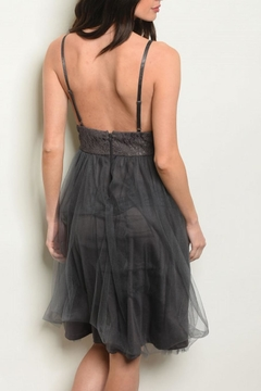 House of Atelier Charcoal Coctail Dress - Alternate List Image