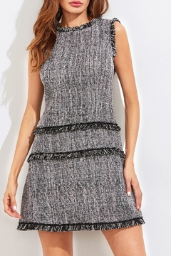 House of Atelier Classic Tweed Dress - Product List Image