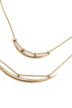 House of Atelier Double Horn Necklace - Alternate List Image