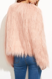 House of Atelier Faux Fur Jacket - Side cropped