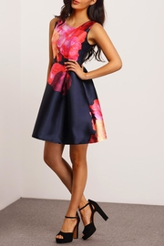 House of Atelier Floral Cocktail Dress - Side cropped