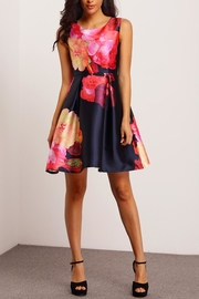 House of Atelier Floral Cocktail Dress - Front cropped