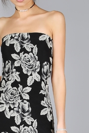House of Atelier Flower Midi Dress - Back cropped