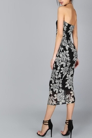 House of Atelier Flower Midi Dress - Side cropped
