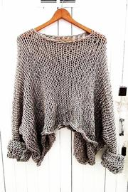 House of Atelier Handmade Slouch Sweater - Product Mini Image