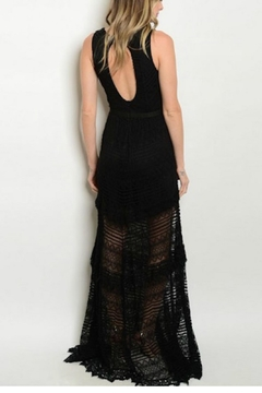 House of Atelier Lace Black Dress - Alternate List Image