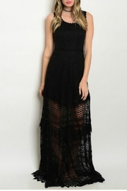 House of Atelier Lace Black Dress - Product Mini Image