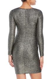 House of Atelier Metallic Bodycon Dress - Side cropped
