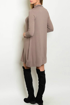 House of Atelier Mocha Jersey Tunic Dress - Alternate List Image