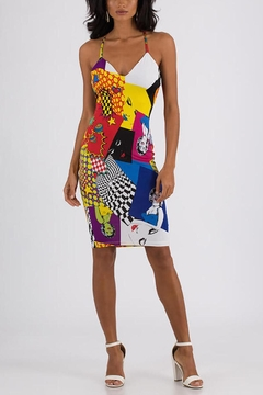 House of Atelier Multicolored Bodycon Dress - Product List Image