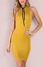 House of Atelier Mustard Highneck Bodycon - Product Mini Image