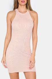 House of Atelier Nude Racerback Mini Dress - Product Mini Image