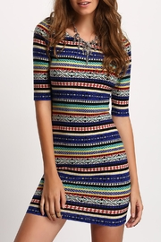House of Atelier Print Bodycon Dress - Product Mini Image
