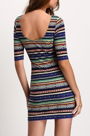 House of Atelier Print Bodycon Dress - Side cropped
