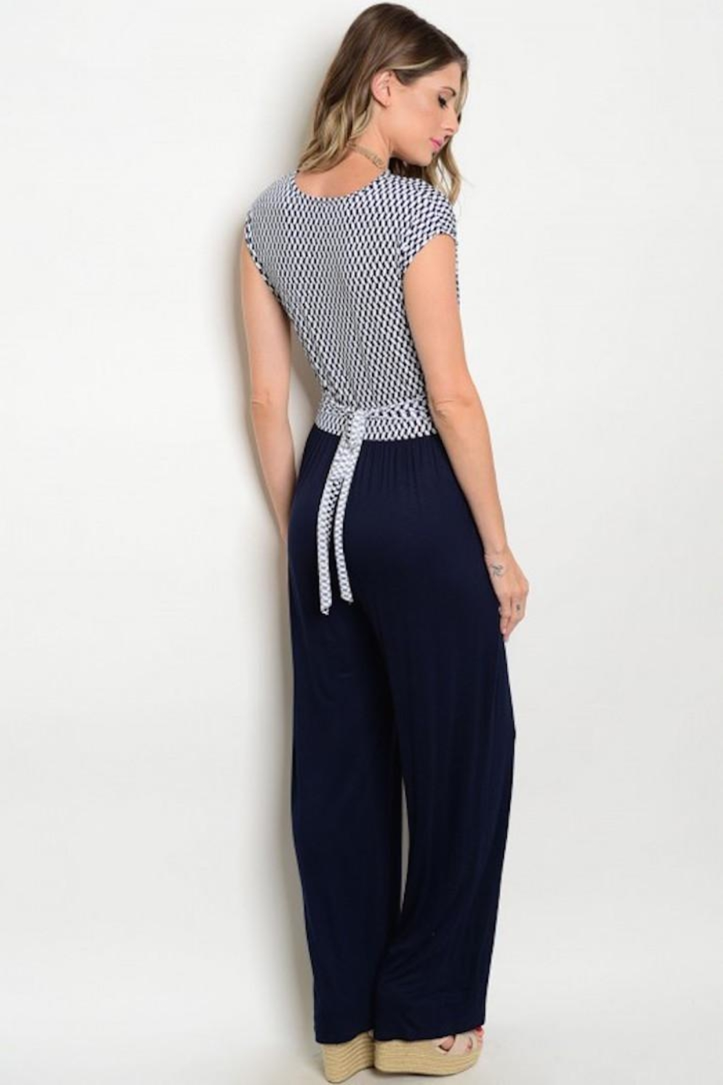 House of Atelier Retro Stetch Jumpsuit - Side Cropped Image