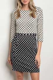 House of Atelier Retrolook Pattern Dress - Product Mini Image