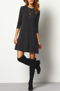 House of Atelier Ribbed Sweater Dress - Alternate List Image