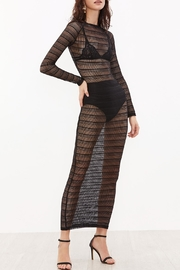 House of Atelier Sheer Lace Dress - Front full body