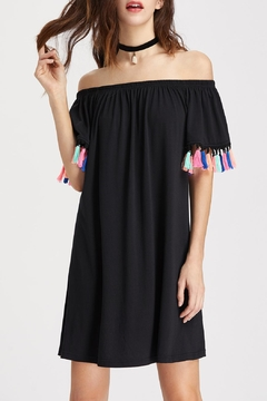 House of Atelier Tassel Sleeve Dress - Product List Image
