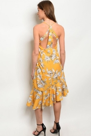 House of Atelier Yellow Floral Sundress - Other
