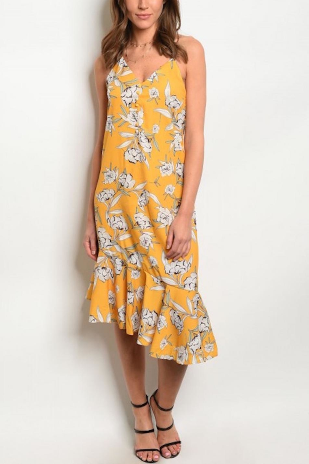 fe46386c897 House of Atelier Yellow Floral Sundress from Montclair by Atelier ...