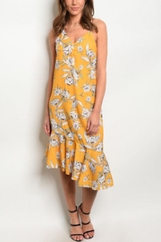 House of Atelier Yellow Floral Sundress - Product Mini Image