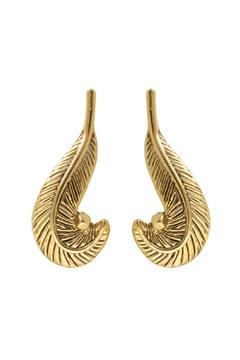 House of Harlow 1960 Arremon Feather Earrings - Alternate List Image