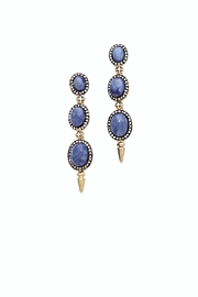 House of Harlow 1960 Blue Drop Earrings - Product Mini Image