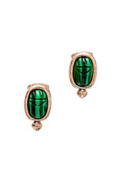 House of Harlow 1960 Khepri Scarab Studs - Product List Image