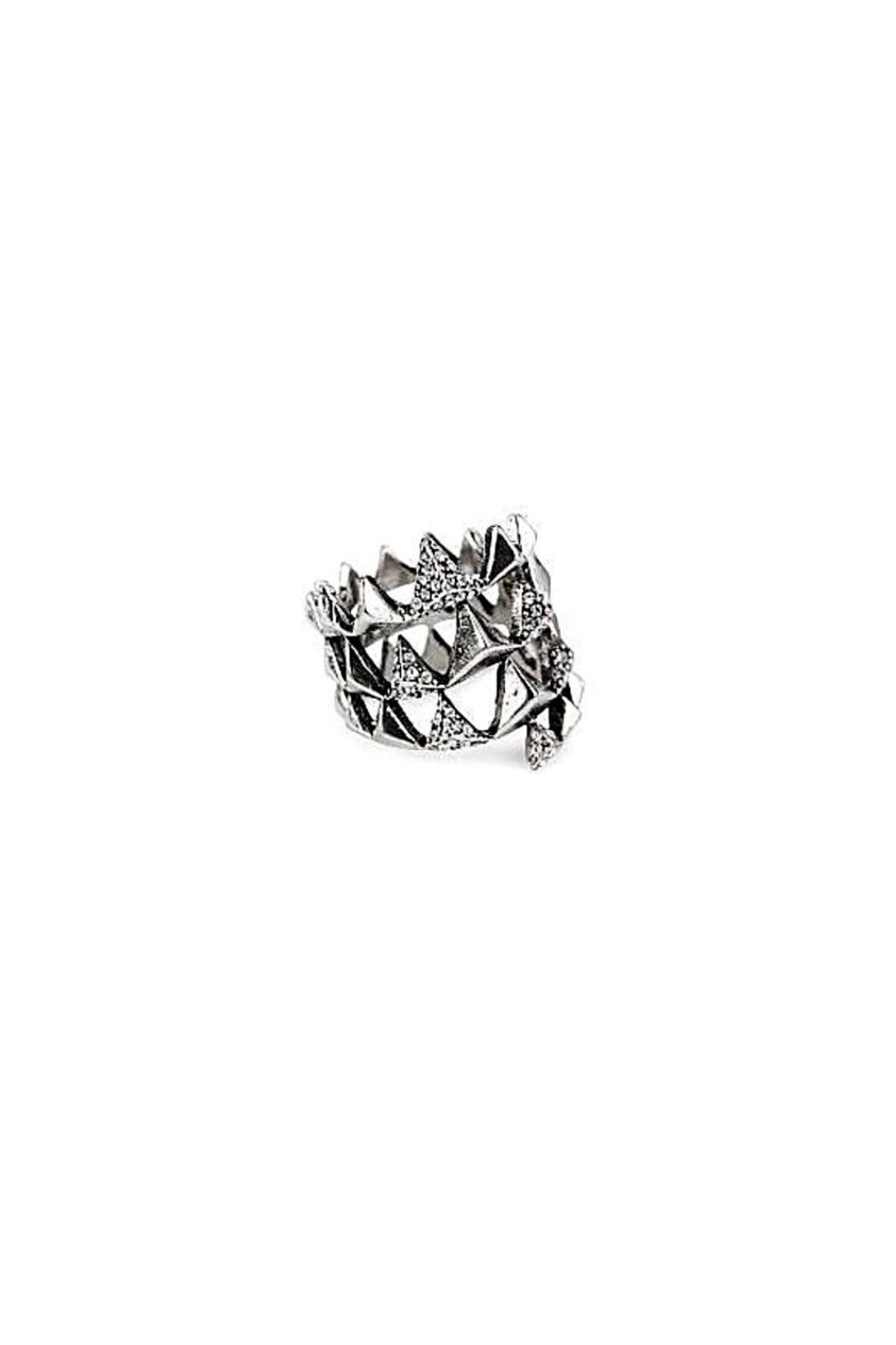 House of Harlow 1960 Pyramid Wrap Ring - Front Cropped Image