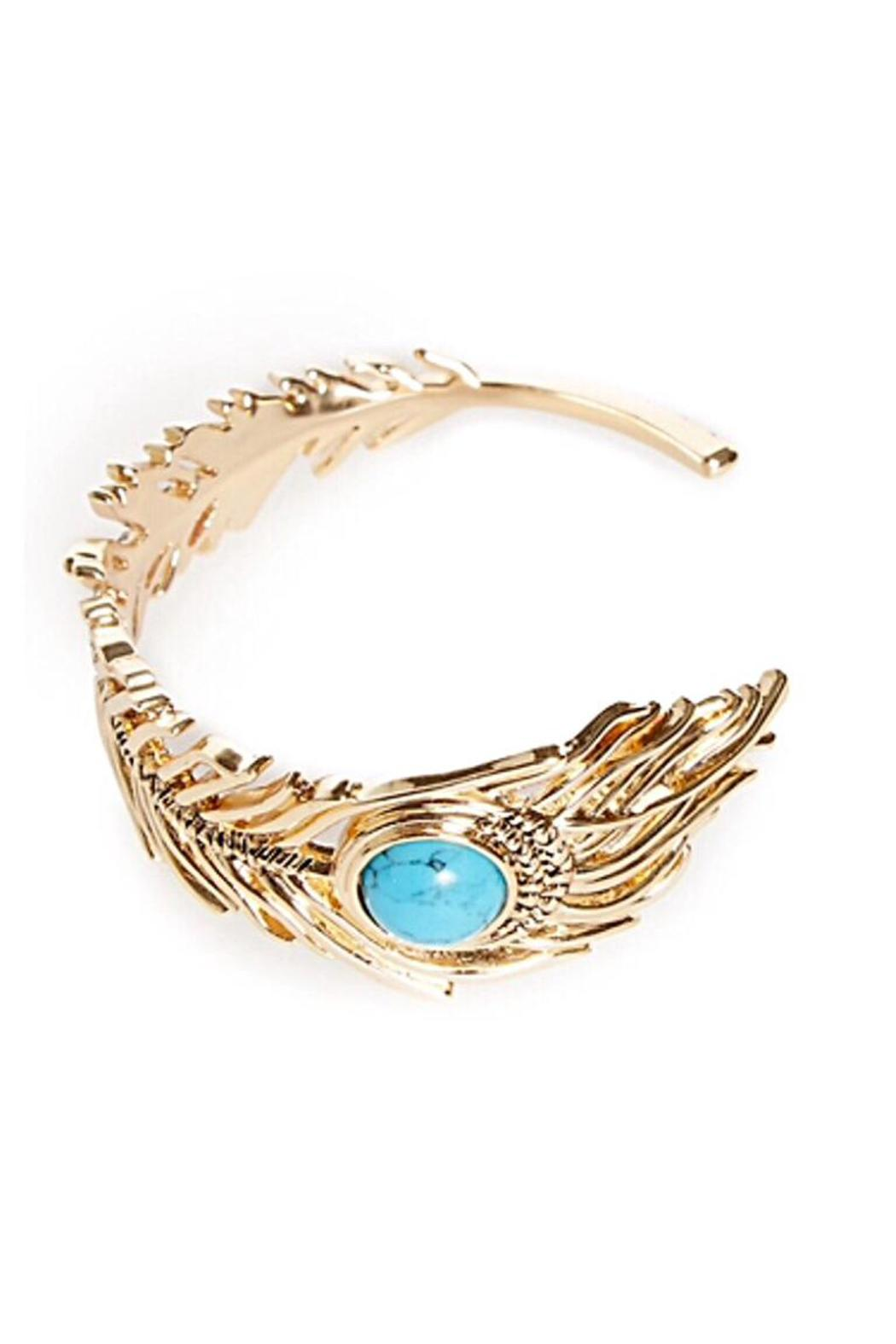 House of Harlow 1960 Wisdom Cuff Bracelet - Side Cropped Image