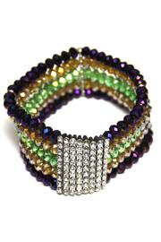 House of Tam Mardi Gras Bracelet - Front cropped