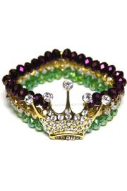 House of Tam Mardi-Gras Crown Bracelet - Product Mini Image