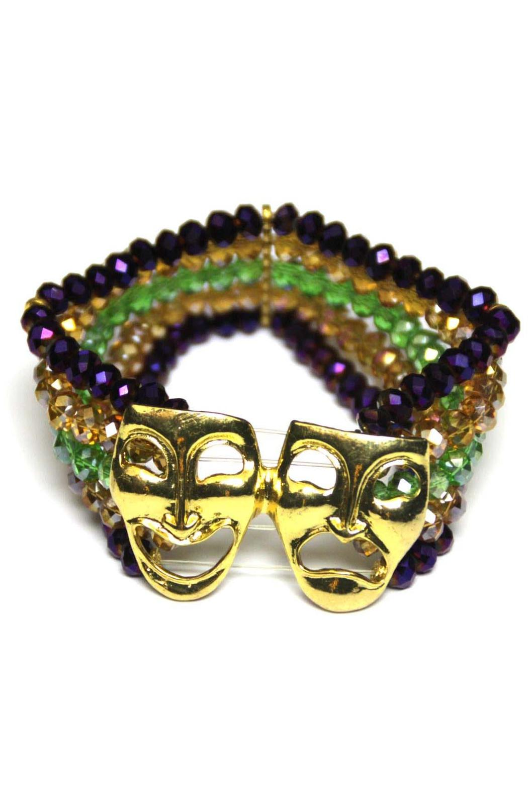 House of Tam Mardi-Gras Mask Bracelet - Main Image