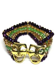 House of Tam Mardi-Gras Mask Bracelet - Front cropped