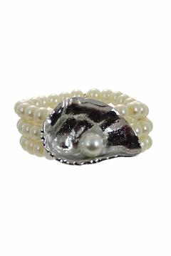 Shoptiques Product: Oyster With Pearl Bracelet