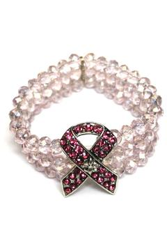 House of Tam Pink Ribbon Bracelet - Product List Image