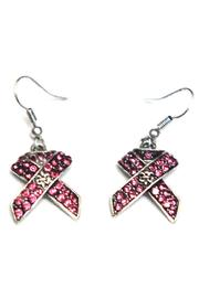 House of Tam Pink Ribbon Earring - Product Mini Image