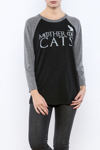 Shoptiques Product: Mother Cats Baseball - main