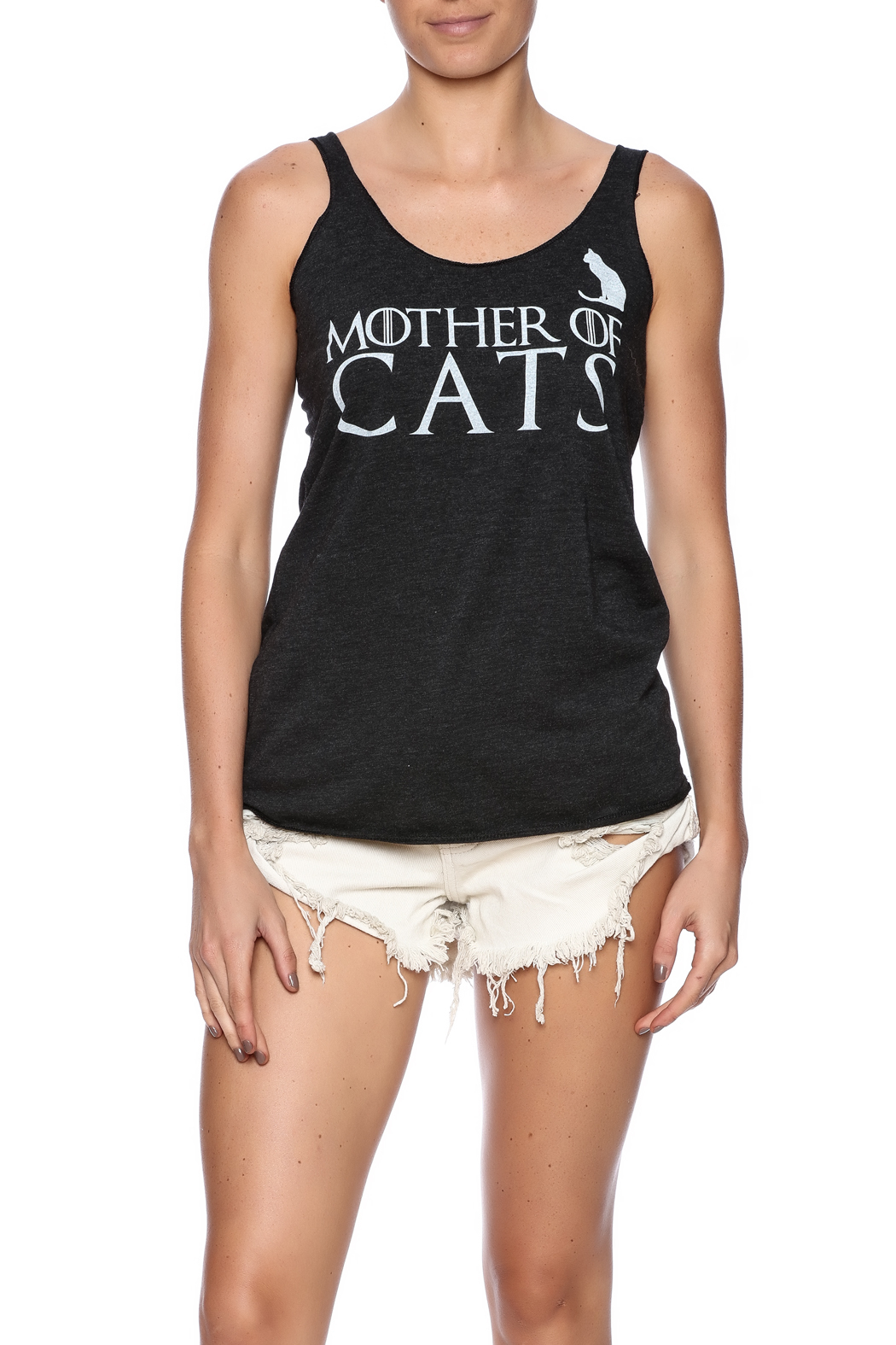 HouseBROKEN Clothing Mother Cats Tank - Front Cropped Image