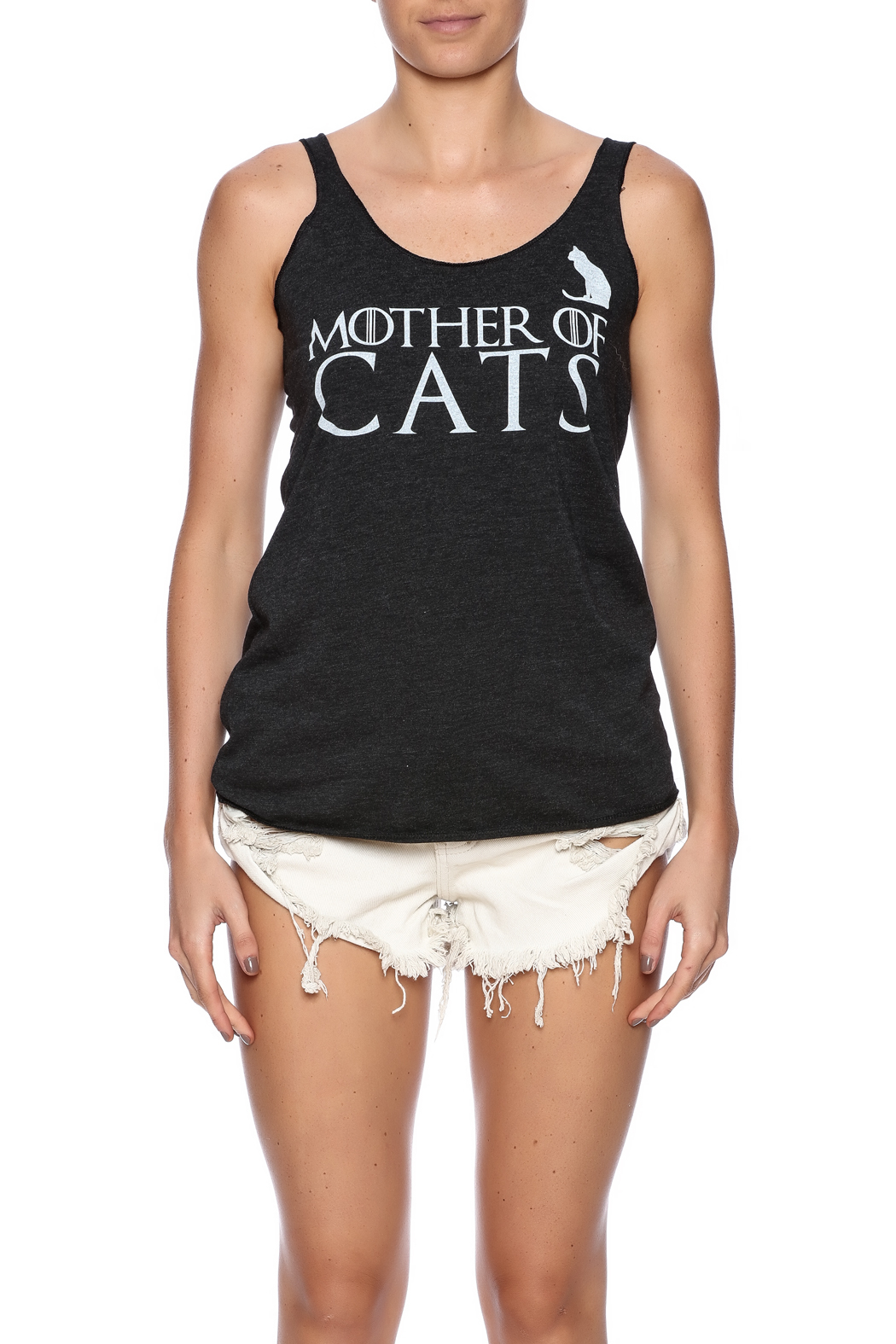HouseBROKEN Clothing Mother Cats Tank - Side Cropped Image