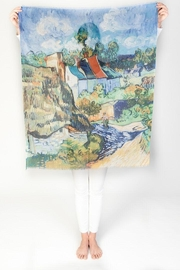Printed Village Houses At Auvers - Product Mini Image