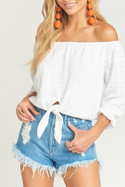 Show Me Your Mumu Houston High-Waisted Shorts - Side cropped