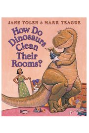 Scholastic How Do Dinosaurs Clean Their Rooms? - Product Mini Image