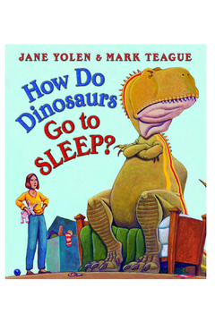 Scholastic How Do Dinosaurs Go To Sleep Board Book - Alternate List Image